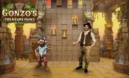 Gonzo's Treasure Hunt - Live Casino