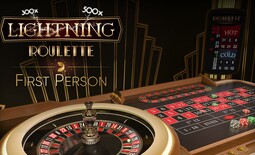 First Person Lightning Roulette - Table Games